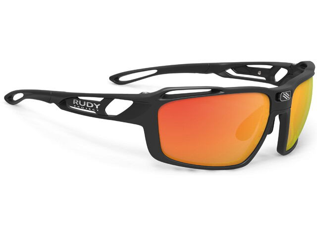 Rudy Project Sintryx Glasses Matte Black/Multilaser Orange-Smoke Black-Transparent